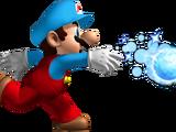 Mario de glace (New Super Mario Bros. Wii)