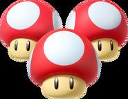 Triple Mushroom (Mario Kart 8)