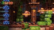 DKCTF Screenshot 5-3 Melone zum Quadrat (Nähe N)