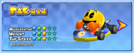 MKAGP2 Screenshot Pac-Man Standard-Kart