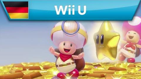 Captain Toad Treasure Tracker - Toad ist nicht allein auf Schatzsuche! (Wii U)