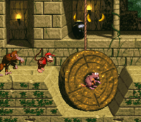 DKC Screenshot Tempo-Tempel