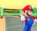 MKT Sprite SNES Marios Piste 1