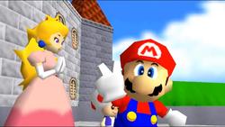 SM64 Mario Peach