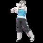 Wii Fit Trainer SSBU