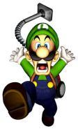 Luigi is missing artwork