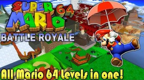 All SM64 Levels in one