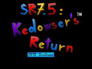 Star Revenge 7.5 Title Screen