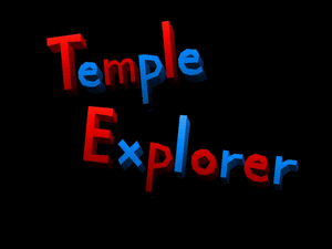 Temple Explorer Title Screen