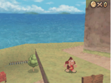 Donkey Kong in Super Mario 64 DS