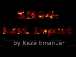 Last Impact Title Screen