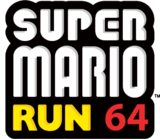 SuperMarioRun64 Logo