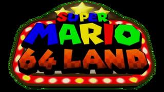 Super Mario 64 Land Logo
