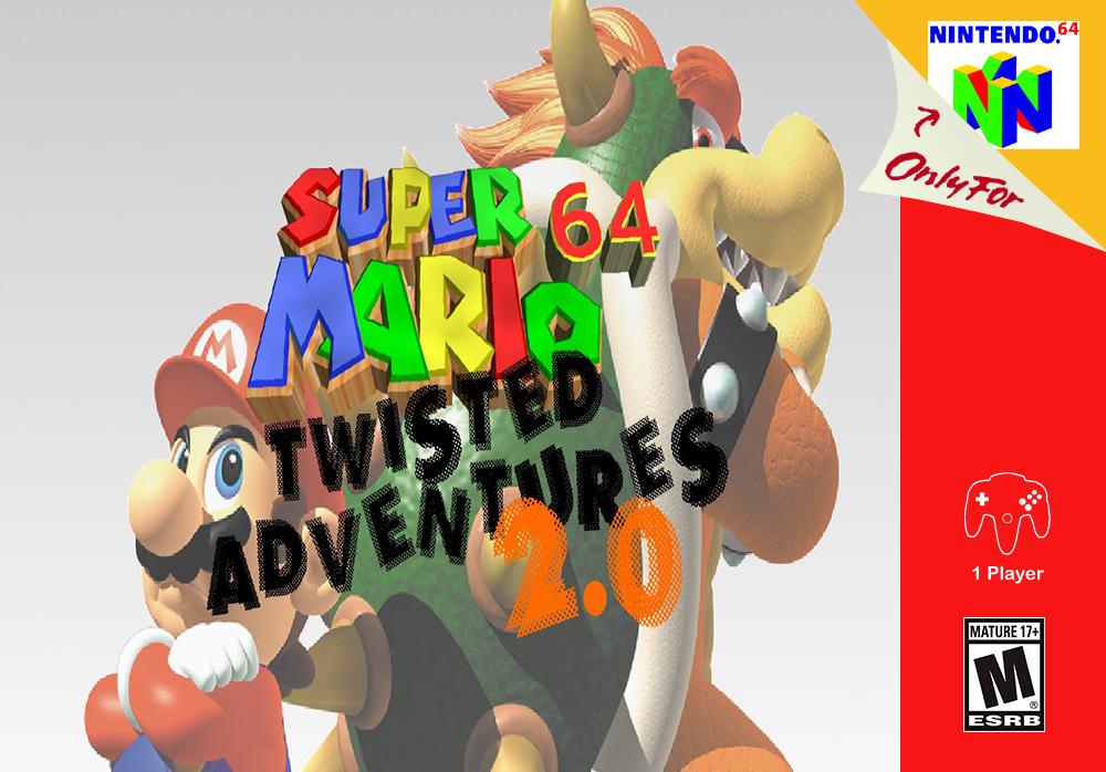 Super Mario 64 Twisted Adventures Super Mario 64 Hacks
