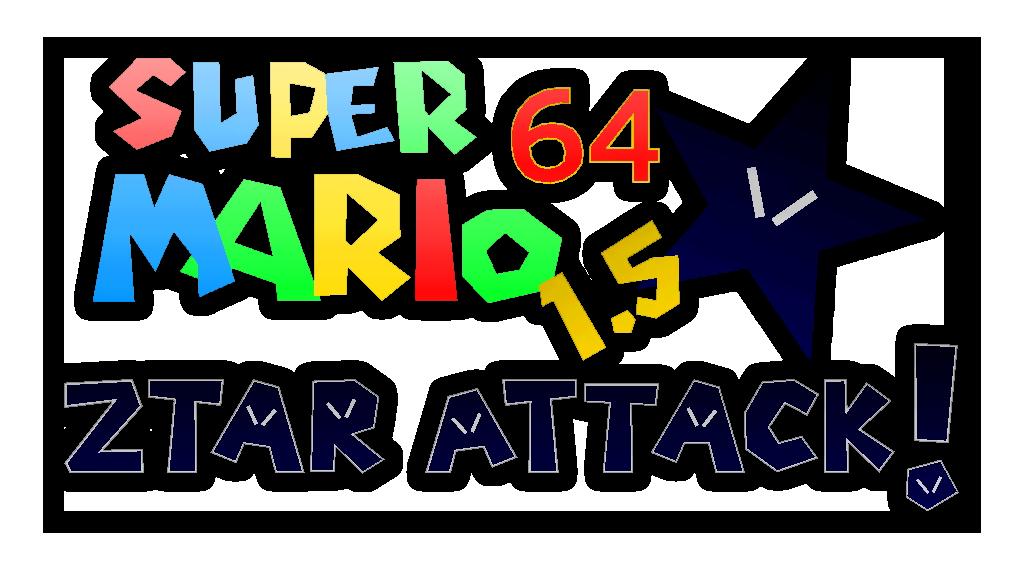Super Mario 64 1 5 Ztar Attack! | Super Mario 64 Hacks Wiki | FANDOM