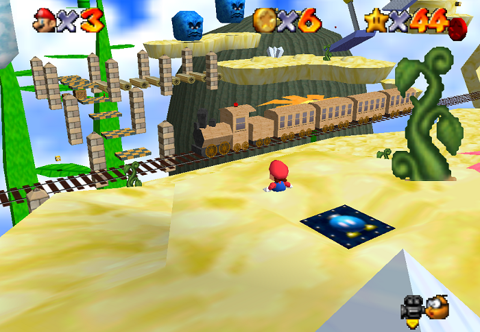 Cloudrail Station | Super Mario 64 Hacks Wiki | FANDOM powered by Wikia
