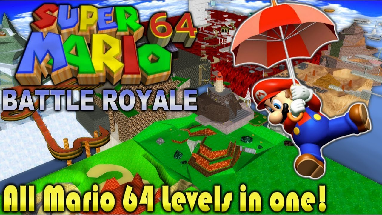 Super Mario 64 Battle Royale Super Mario 64 Hacks Wiki