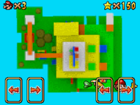 Excerpt From Super Mario 256 Course 1 Map