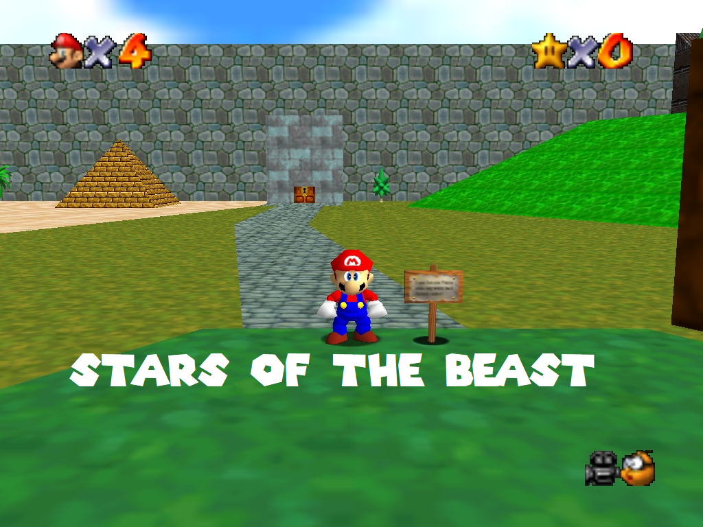 Super Mario 64 Stars of the Beast | Super Mario 64 Hacks