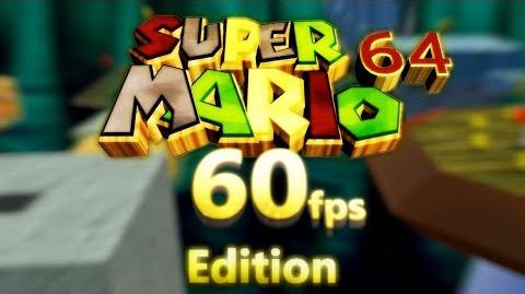 Super Mario 64 in 60 FPS Widescreen 4k resolution