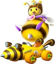 Mario Kart 7 Honey Queen