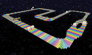 SNES Rainbow Road