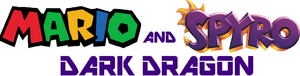 Mario and Spyro - Dark Dragon logo