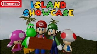 Super Mario Escape From Bowser Island Island Showcase