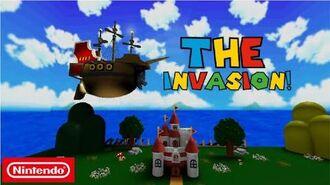 Super Mario Escape From Bowser Island The Invasion!