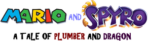 Mario and Spyro - A Tale of Plumber and Dragon logo