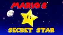 Mario's Secret Star