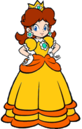 Princess daisy 2d transparent by isaacnoeliscutie-daytqyw