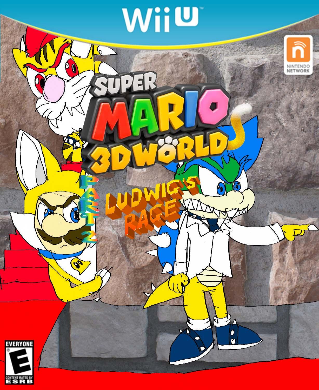 Super Mario 3D World Part 2: Ludwig's Rage | Super Mario