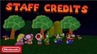 Super Mario Escape From Bowser Island Staff Credits