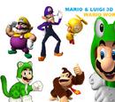 Mario & Luigi 3D: Wario World