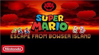 Super Mario Escape From Bowser Island (2020)