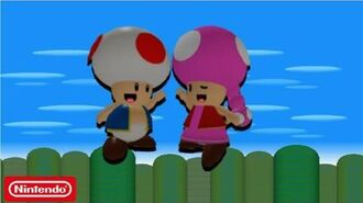 Super Mario- Escape From Bowser Island - Toad and Toadette Are Siblings