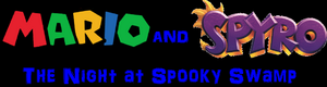 Mario and Spyro - The Night at Spooky Swamp logo