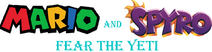 Mario and Spyro - Fear the Yeti logo