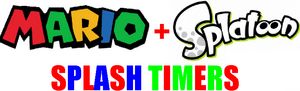 Mario Splatoon Splash Timers logo