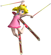 Princess Peach Artwork - SSX on Tour
