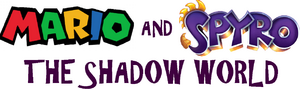 Mario and Spyro - The Shadow World logo