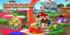 Paper Mario Colour Splash