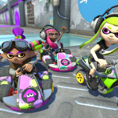 Inklings in a variety of colors.