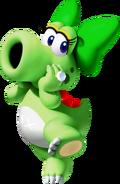 Green Birdo - Mario Kart X