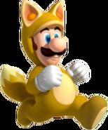 Kitsune Luigi - Mario Kart X