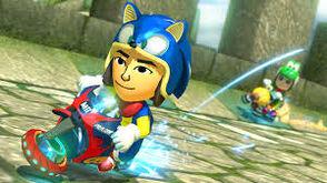 Sonic amiibo (Mii)