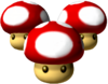 Triple Mushroom - Mario Kart Double Dash