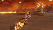 MK8 - Wii Grumble Volcano
