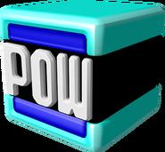Blue POW Block Model - Super Mario 3D World